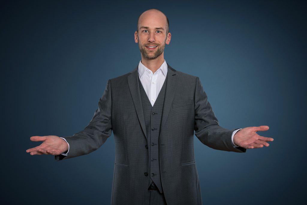 Andreas Maier Zauberkünstler Präsentationstrainer Autor Speaker