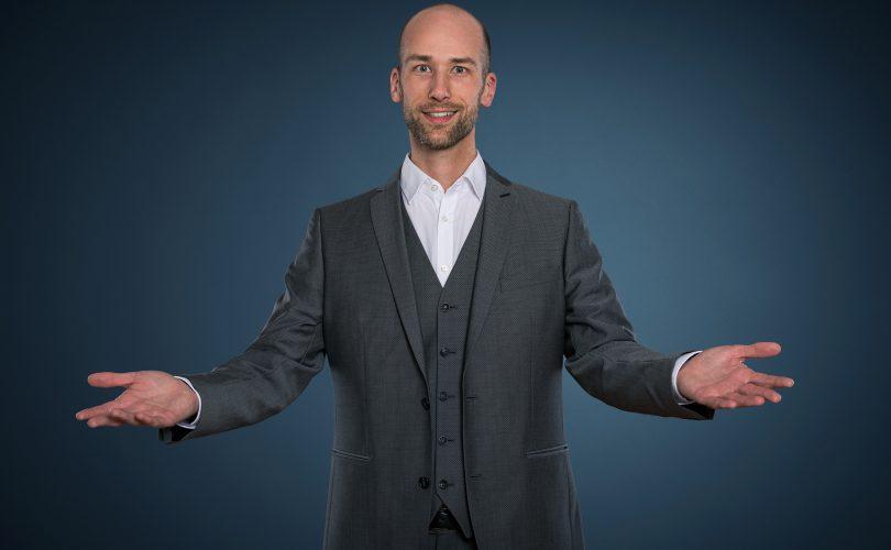 Andreas Maier, Ingenieur, Zauberer, Präsentationstrainer, Autor, Speaker, München